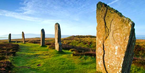 Ring of Brodgar in Scotland, 2500 – 2000 BC