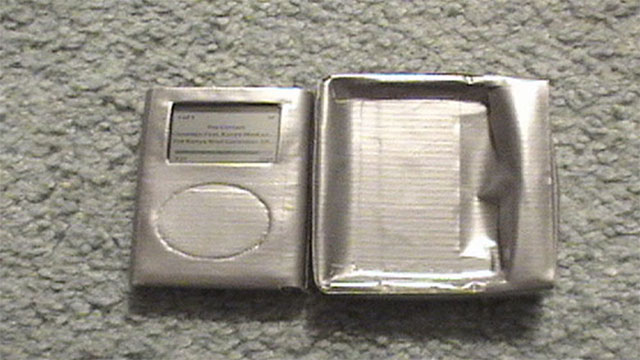 duct tape iphone case and dock