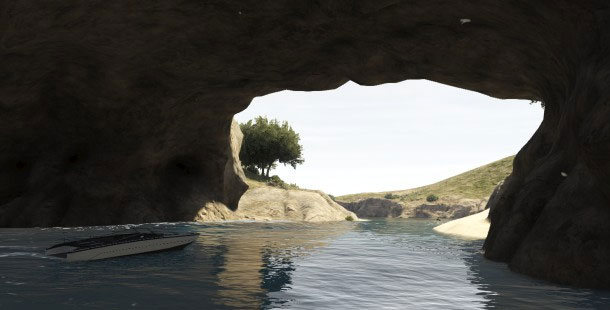 Lazy Sunday Afternoon In A Cove