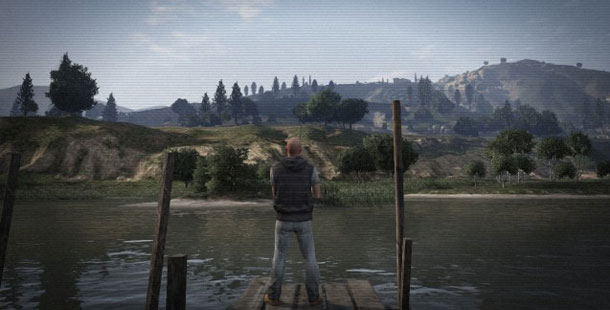 Taking A Leak During A 9 AM Fishing