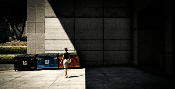 Dumpsters Outside of Integrity Way, Los Santos