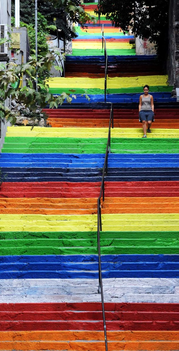 steps in Istanbul