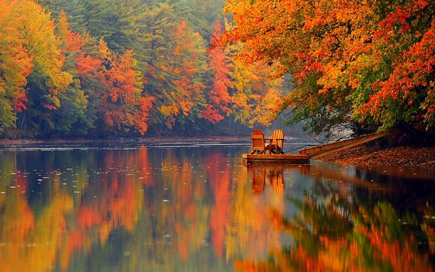 25 Peaceful And Stunning Fall Pictures That You'll Enjoy This Season