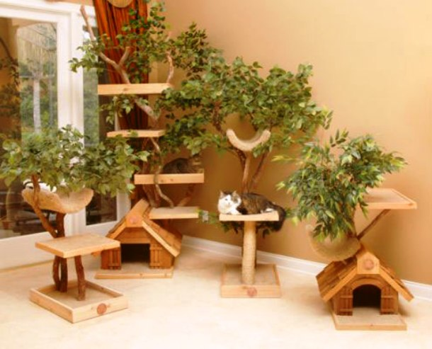 www.digsdigs.com Unique-Cat-Tree-Houses-from-Pet-Tree-House-3