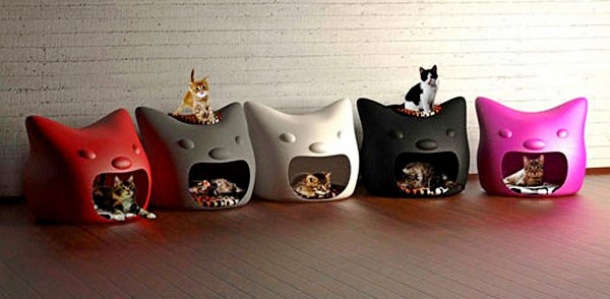 www.lushome.com cat-houses-modern-furniture-design-small-pets-2
