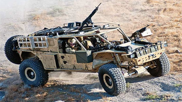 Search and Rescue Tactical Vehicle