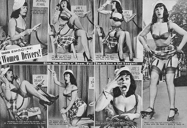 Bettie_Page_driving ad