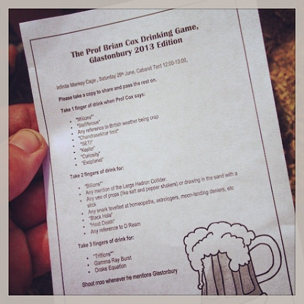 Drinking game rules