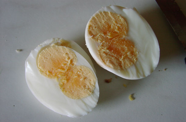 double-yolked egg