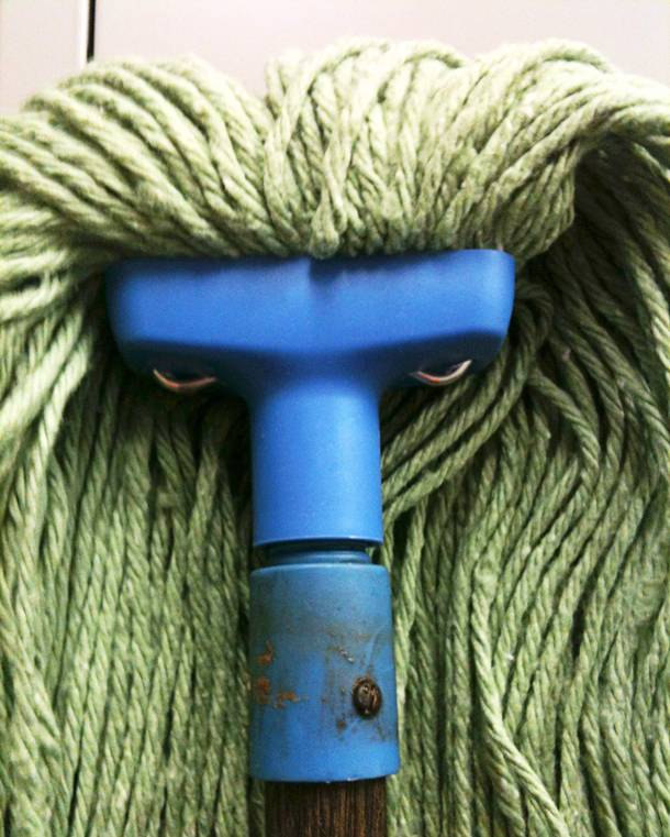 scary mop