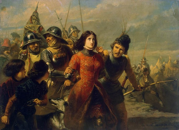 Adolphe_Alexandre_Dillens_-_Capture_of_Joan_of_Arc