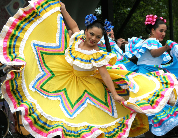 Mexican Dance at the National Cinco de Mayo Festival In Washington D.C.