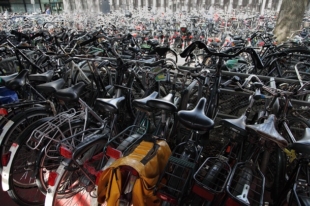 bicycles in netherlands