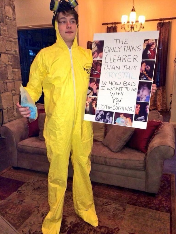 breaking bad prom proposal