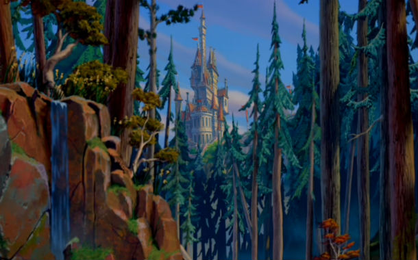 castle in Beauty and the Beast