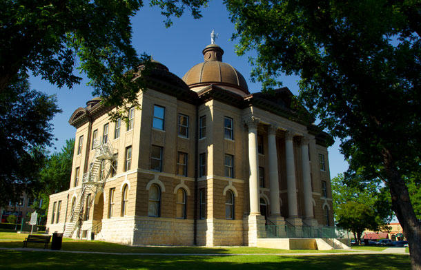 Hays County Courthouse, San Marcos TX