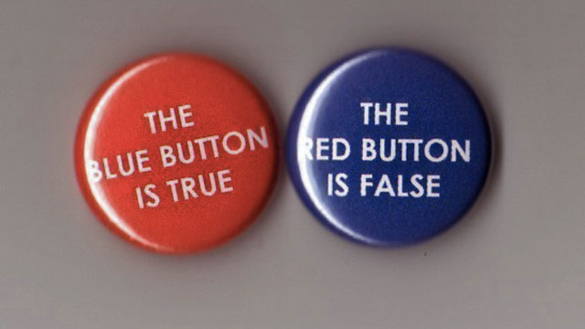 Contradictory buttons