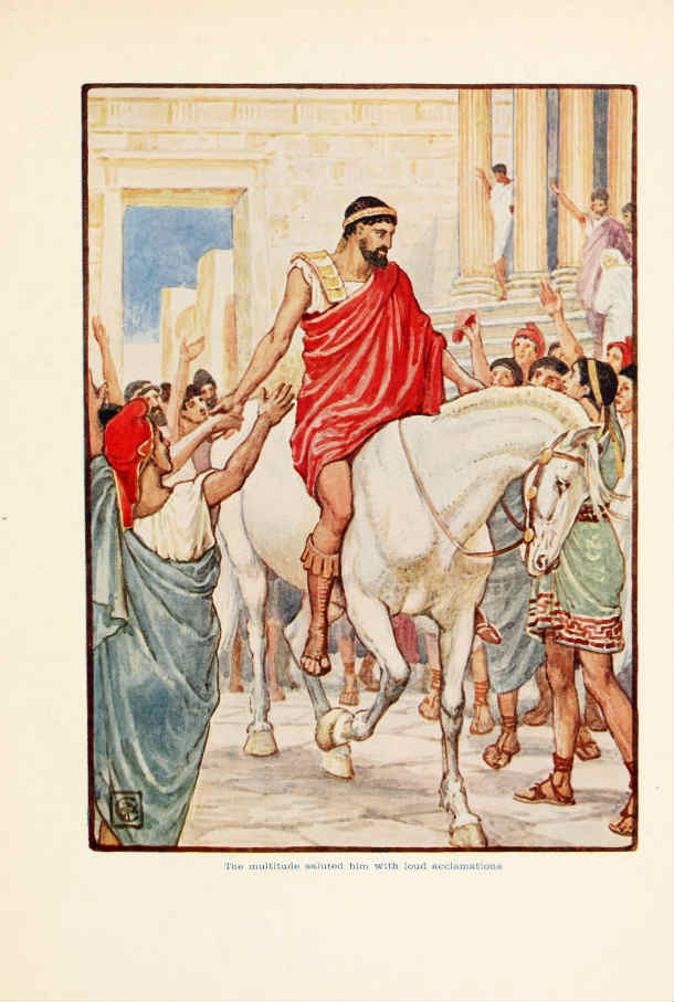 Source: History of the Peloponnesian War by Thucydides, Image: Wikipedia