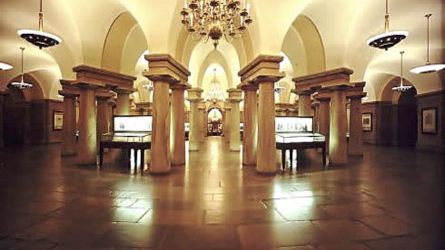 US capitol crypt