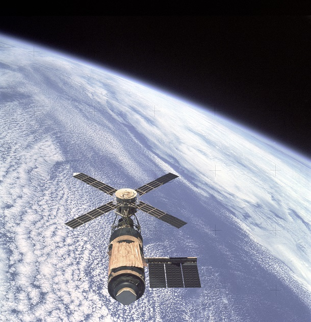 Skylab_and_Earth picture of Area 51