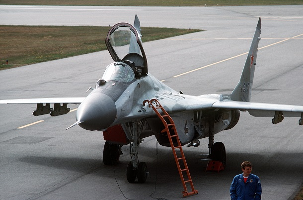 Russian MiG-20 fighter