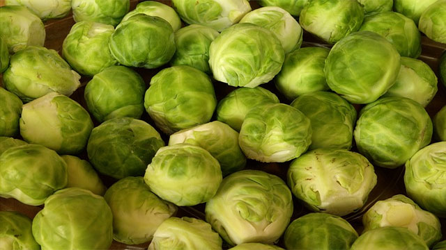 Unwanted brussels sprout