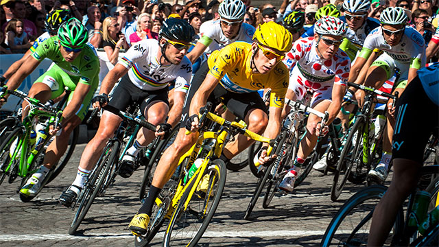 First organized during this bike boom in 1903, the Tour de France has been held every year since then except for pauses during the World Wars