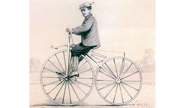 The first velocipedes were nicknamed boneshakers