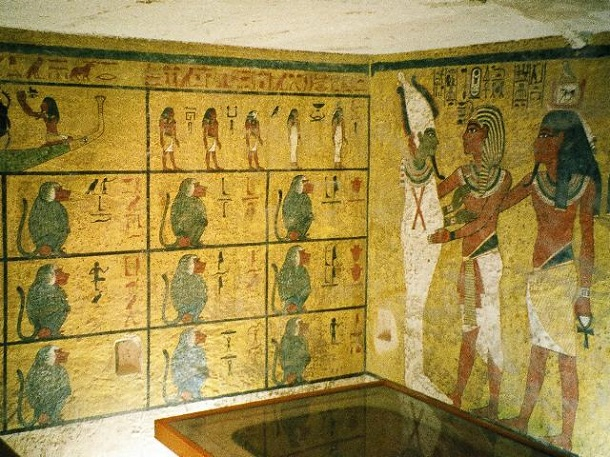 burial chamber decoration valley of the kings