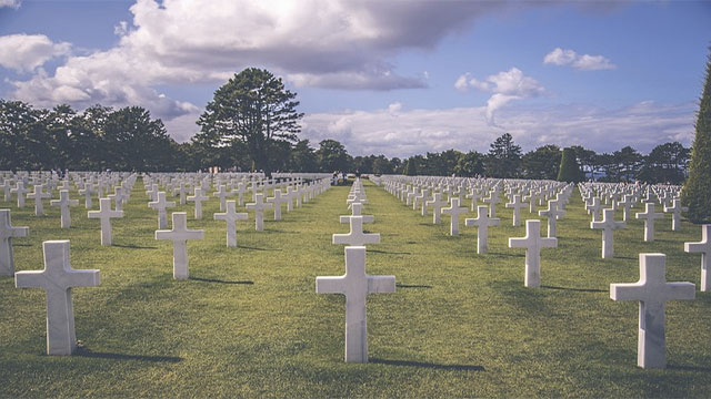 Do you know why there is a fence around the cemetery?