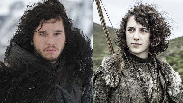 Jon Snow and Possible twin sister