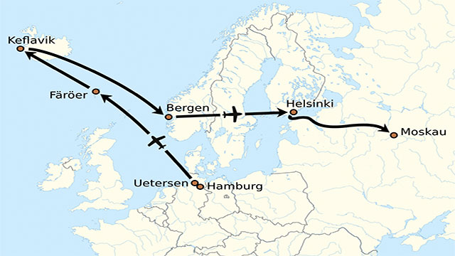 In the middle of the Cold War, a German aviator named Mathias Rust flew straight through Soviet defenses and landed in the Red Square to ease tensions between the East and the West