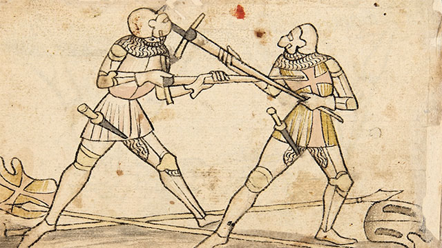 During the Middle Ages, there were some cultures where touching another man's beard was a sign of extreme disrespect