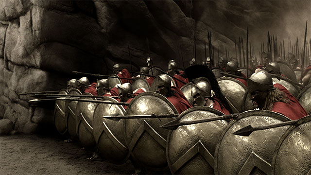 """If"" - The Spartan's reply to Philip II of Macedon's warning that ""If I win this war you will be slaves forever"""