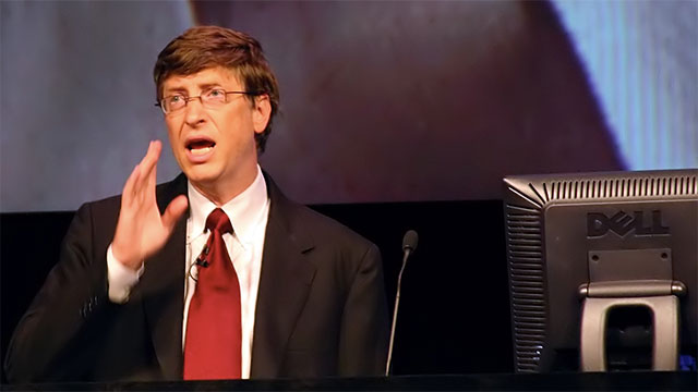 If Bill Gates spent $1 million every day, it would take him 218 years to spend all of his money