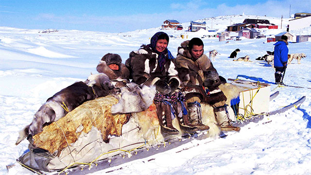 Canada forcibly relocated many Inuit into the northern parts of the country in order to affirm its sovereignty in the Arctic