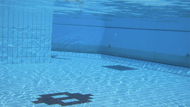 You get wrinkles in the pool because your skin absorbs water
