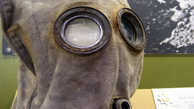 Some allege that their decline was due to the rise of gas masks in warfare