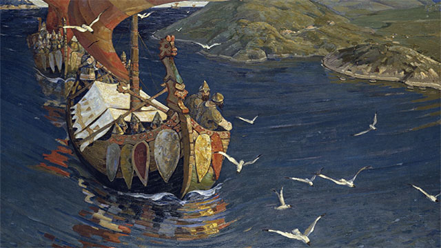 The greatest honor for a Viking was to be buried on board a boat