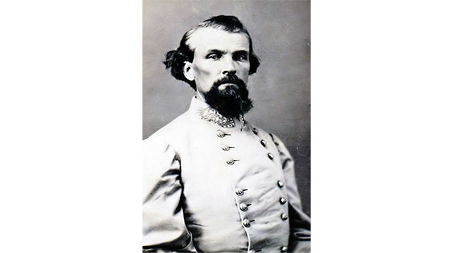 """No damn man kills me and lives."" - Confederate General Nathan Bedford Forrest after being shot by a subordinate officer. Although he survived the would, he killed his assailant anyway."