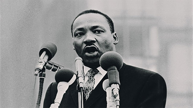 """A man who won't die for something is not fit to live"" - Martin Luther King, Jr."