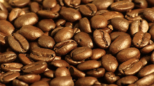 Coffee beans are actually not beans