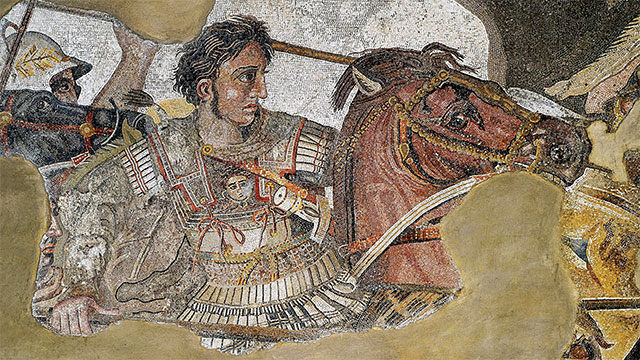 Alexander the Great was the first man to make shaving popular