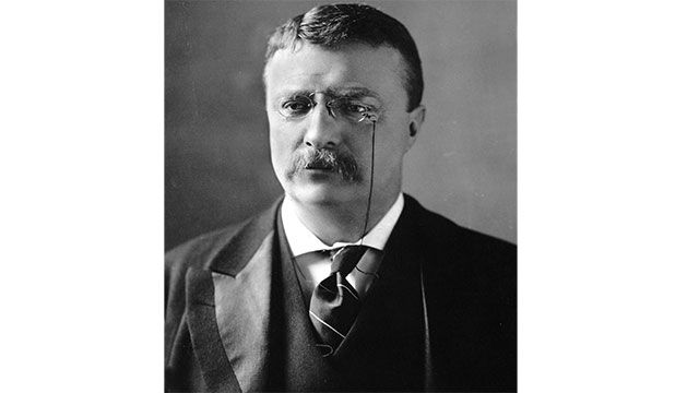 """Ladies and gentlemen, I don't know that you fully understand that I have been shot; but it takes more than that to kill a Bull Moose"" - Teddy Roosevelt continuing with his 90 minute speech although he had just survived an assassination attempt. He didn't leave the podium until it was over."
