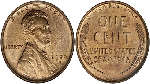 The first pennies were 100% copper