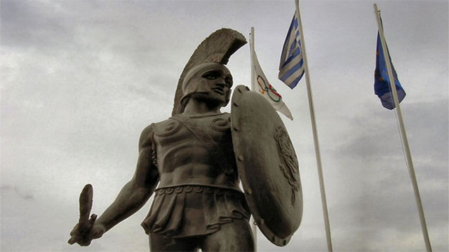 """Molon labe"" (translated as ""come and get them"") - King Leonidas I in response to the Persian army's demand that the Spartans surrender their weapons at the Battle of Thermopylae. Still today, Leonidas' are inscribed under the monument made at Thermopylae in his honor."