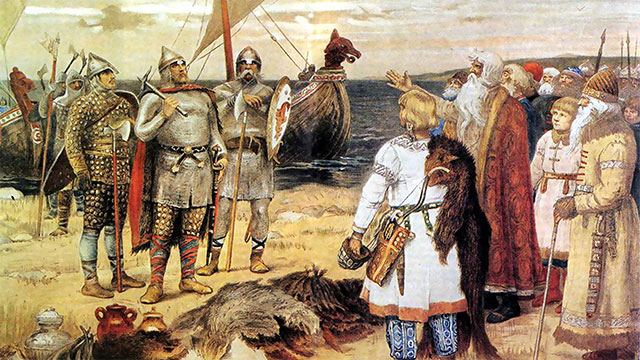 During the Viking Age, present day Denmark, Sweden, and Norway simply consisted of a number of tribes who were constantly at war with one another when they weren't off raiding