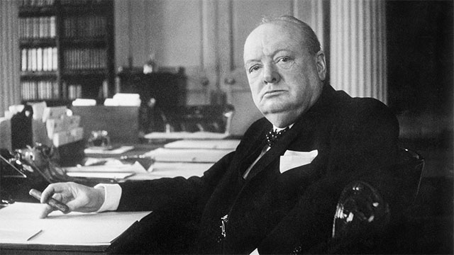 """Had I been your husband, I would have drank that."" - Winston Churchill responding to lady Nancy Astor when she told him, ""Had I been your wife, I would have mixed poison in your tea"""