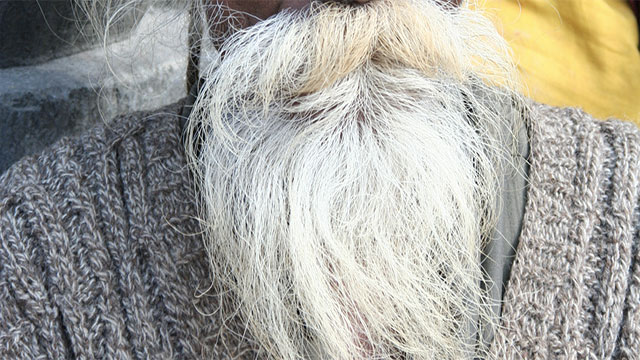 Some Vikings would bleach their beards as well