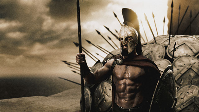 """Then we shall fight our battle in the shade."" - Dienekes, a Spartan soldier, when he was informed that Persian arrows would be so numerous as ""to block out the sun"""